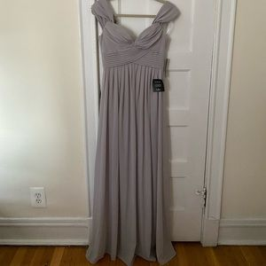 Lulu's Dresses - Lulu's Ocean of Elegance Georgette Maxi Dress -NWT